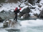Crossing Cayoosh Creek