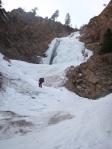 Approaching Honeyman Falls