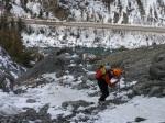 Rock scramble on Salmon Stakes