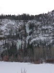 Marble Canyon Ice from Highway 99