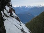Snowslab traverse