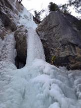 Jean-Marc Savoie leading the first pitch of Icy BC