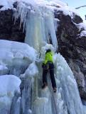The Office climbs at Backcomb (Eric Hughes, Dec 31)