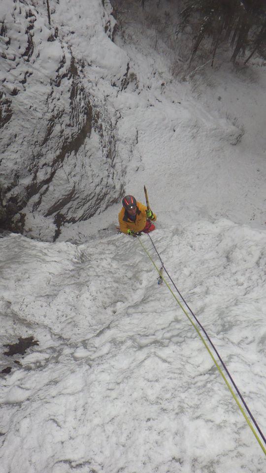 January 7 2016 Ice Climbing Report Facebook Updates