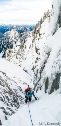 Dakotah on Crown Mountain (Matt Kennedy)