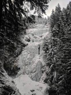 Place Creek Falls from the approach trail. (Drew Brayshaw)