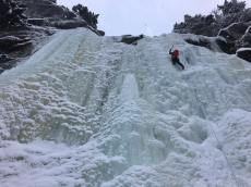 Ryan Larkin leading the entertaining second pitch. Many many options at WI4. (Adrian Burke)
